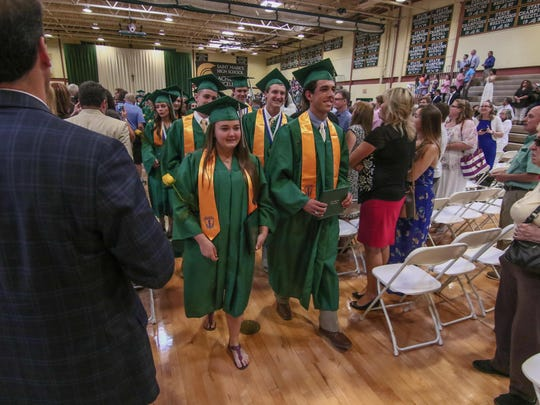 St. Mark's 45th annual commencement exercise was held June 3. The school's enrollment has plummeted over the past decade.