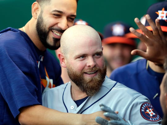 Catcher Brian McCann says the Astros were the only