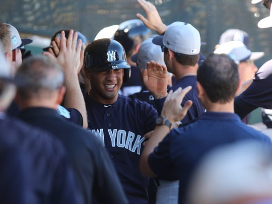 Torres, the Yankees' No. 1 prospect, is trying to master