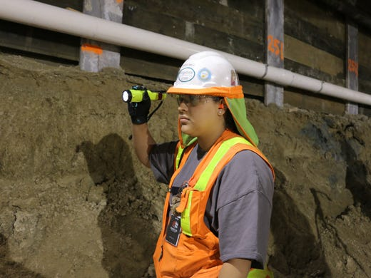 Ice Age fossils emerge during Los Angeles subway dig