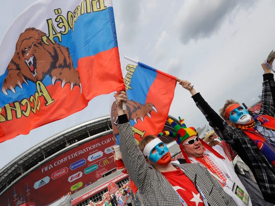 Russia's relatively early exit from the Confederations