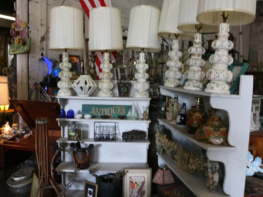 Inside Salvage Angel by the Sea, you'll find home decor,
