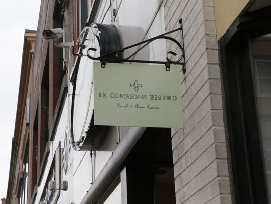 Le Commons Bistro is open on the Commons between  Gorgers