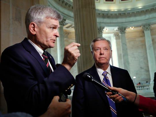 Sens. Bill Cassidy and Lindsey Graham discuss health