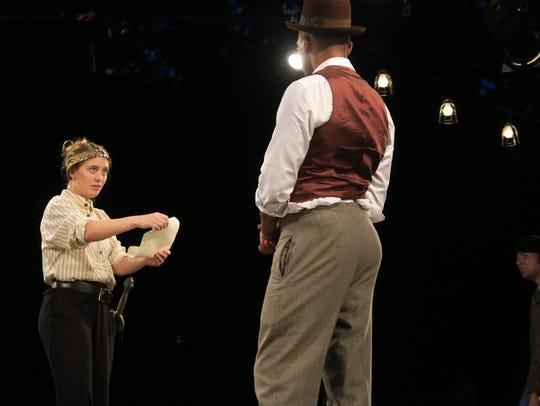 Emilie Krause will play King Henry V in Delaware Shakespeare's