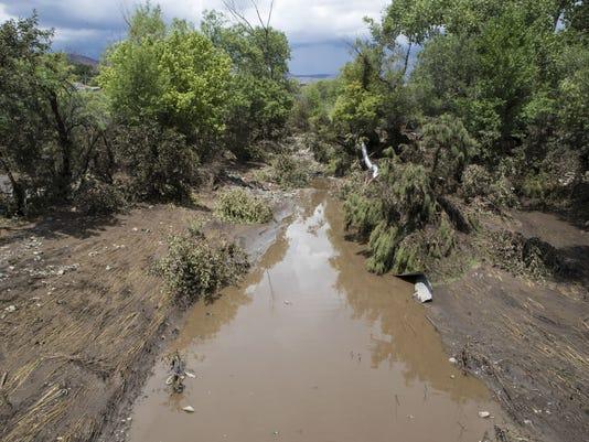 Mayer flooding