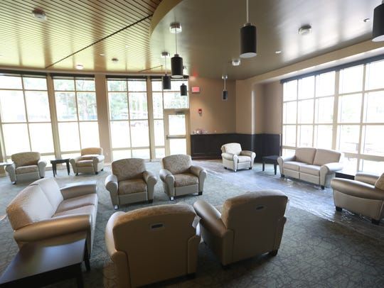 FSU's  new residence halls.,will be fully operational