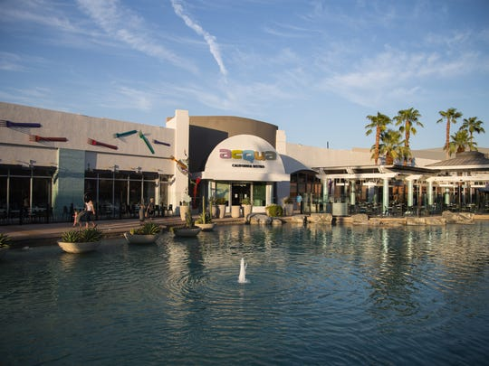 The River at Rancho Mirage is an outdoor shopping center