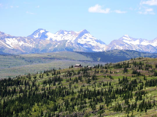 Granite Park Chalet sits in a remote part of Glacier between Logan Pass and the Loop.
