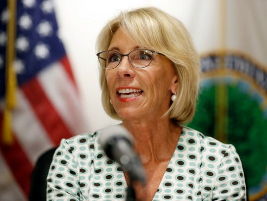 Education Secretary Betsy DeVos