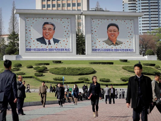AP NORTH KOREA REPUBLIC OF KIM GENERATION GAP I FILE PRK