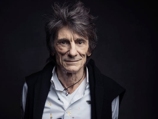 AP PEOPLE RONNIE WOOD A ENT FILE USA NY