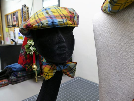 Celebrate Scottish heritage in style with the North Carolina town of Franklin's official tartan, now available in wearable form at the Scottish Tartan Museum.