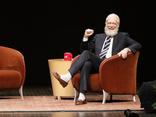 David Letterman in 2015.