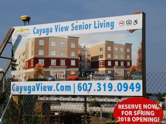 Cayuga View Senior Living rendering