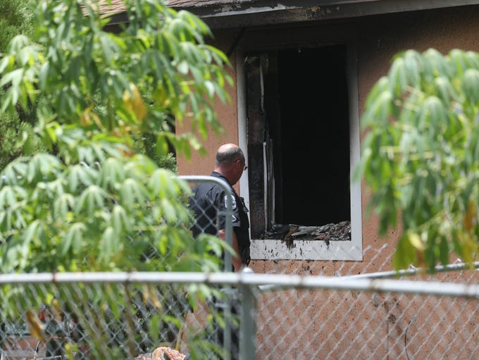 One person was confirmed deceased at a house fire on