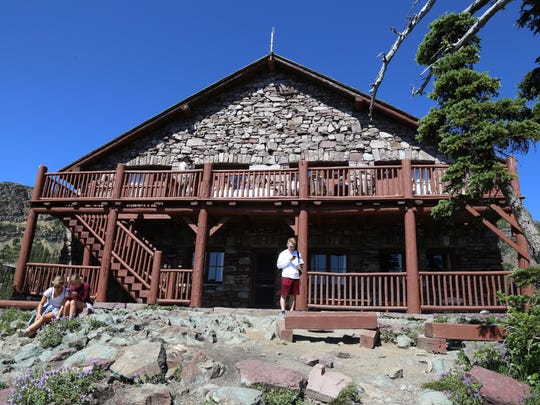 Granite Park Chalet is a resting spot for hikers on the Highline Trail in Glacier, as well as a place to stay if you are lucky enough to get a reservation.