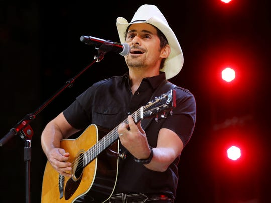Country music recording artist Brad Paisley is coming to the York Fair.