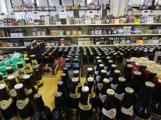 Best of Your Hometown shopping best beer at best beer store, Scrooge's on Clemson Boulevard in Anderson.