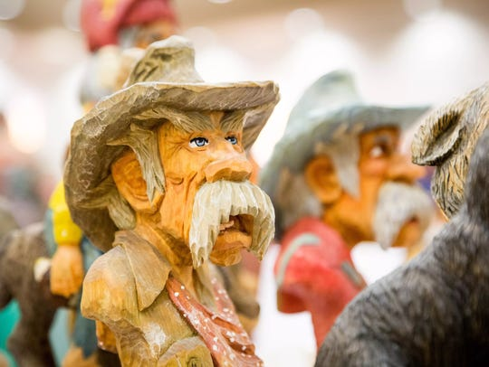 The 17th annual Woodcarving Show and Competition will