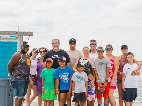 Blue Water Development recently hosted Big Brothers