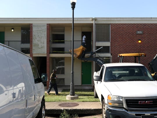 Construction crews work to repair FAMU's Palmetto North