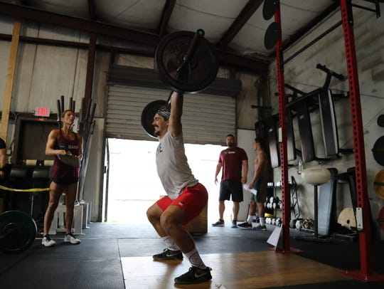 Local crossfit athletes participate in the SWFL Sharks