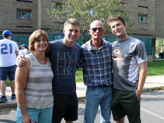 Misericordia University first-year student Ryan Cahill