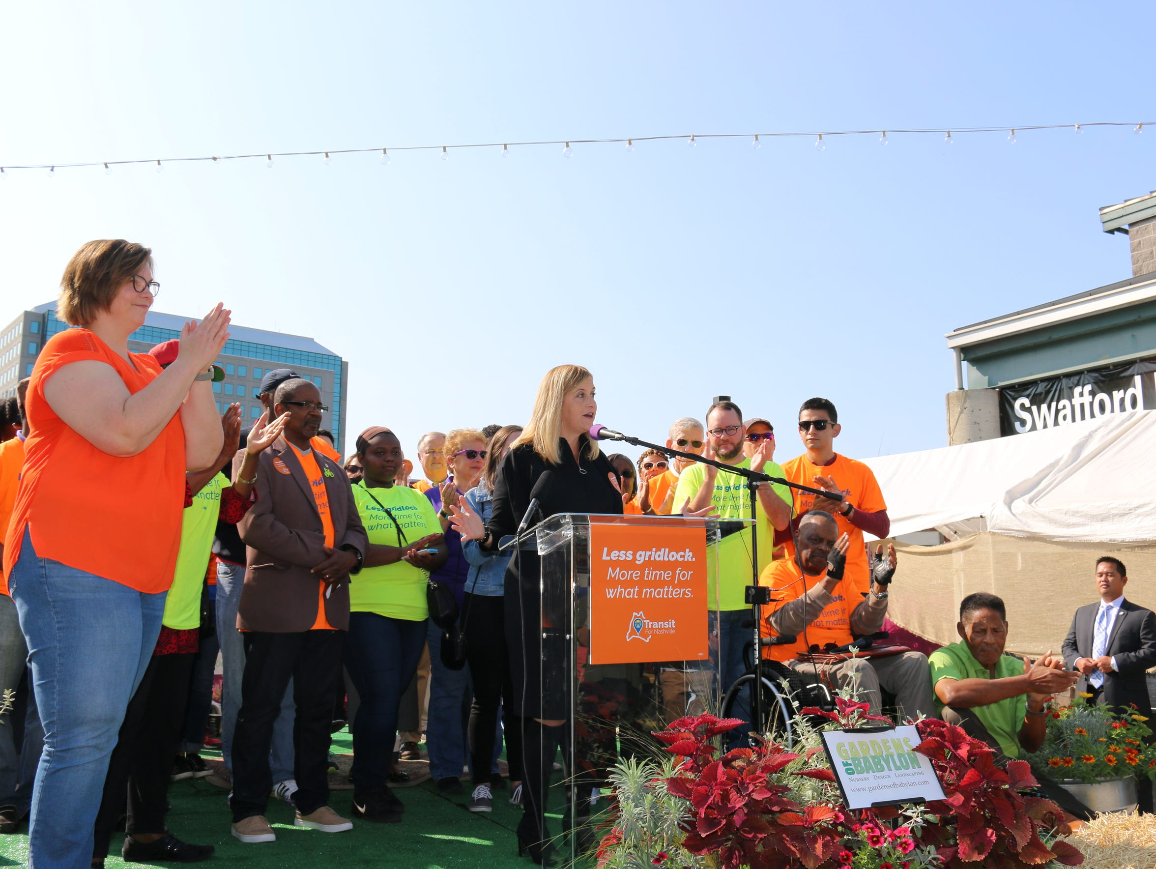 Nashville Mayor Megan Barry calls for residents to