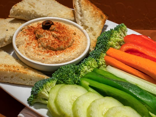 Mash chickpeas to make hummus, add spices, and you have a perfect dip for crackers and vegetable sticks.