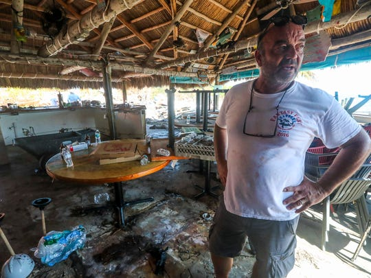 """Snapper's on Key Largo will rebuild. It was no question that they would't. """"We will be stronger and better"""" owner Peter Althois said when asked. The restaurant and bar on the east side of the island was hit hard by storm surge."""