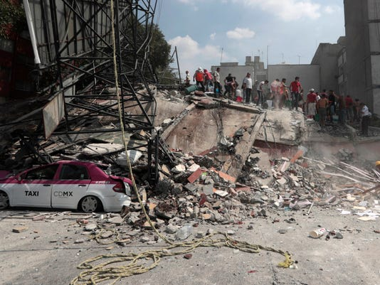 AP MEXICO EARTHQUAKE I MEX