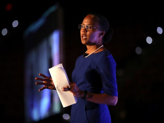 Katrina Rolle, president & CEO of the United Way of
