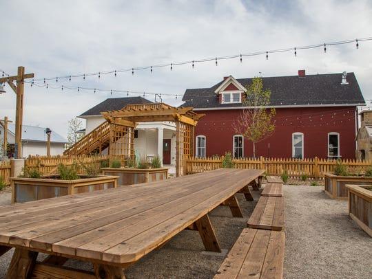 The Farmhouse at Jessup Farm Artisan Village.