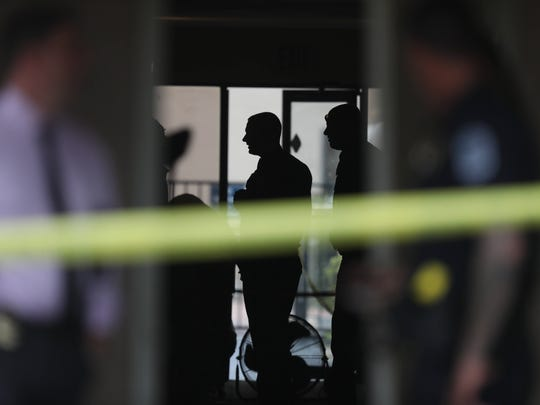 The Fort Myers Police Department in September 2017, at the scene of a homicide at the Travelodge on U.S. 41 just south of Colonial Boulevard Friday. Trayviouse Taylor, 20, plead guilty to manslaughter Wednesday during a trial for the crime.
