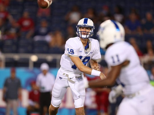 MTSU quarterback John Urzua says his playing days are over following his latest concussion.