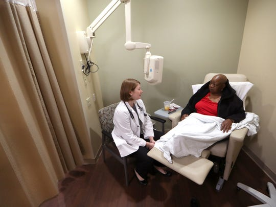 Dr. KarenRussell, a cancer and hematology specialist