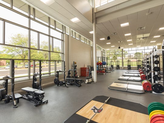 The Fitness Center inside the Willmore Center at Ripon College includes two floors of cardiovascular and weight-training equipment and three fitness studios.