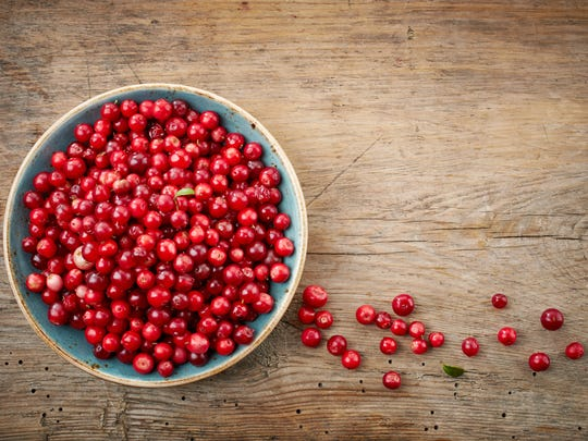 We're crazy about cranberries at Thanksgiving. It's a common crop in Wisconsin.