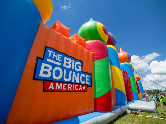 The Big Bounce America Nation Wide Tour will stop in El Paso this weekend at Modesto Gomez Park, 4600 Edna Ave.