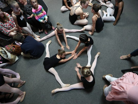 Moscow Ballet auditions young local dancers at the