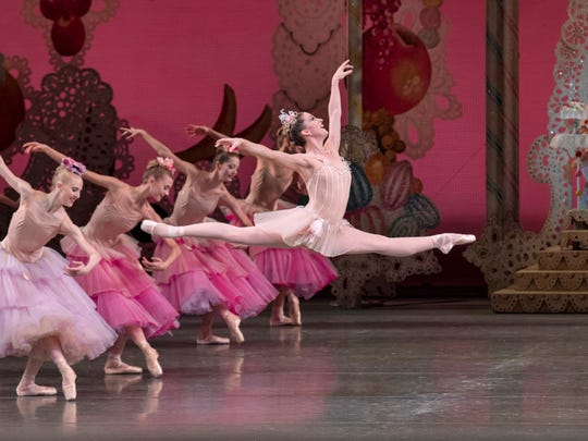 "Ashley Bouder in ""George Balanchine's The Nutcracker"""