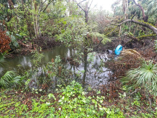 Wendy Peterson's property was flooded including her
