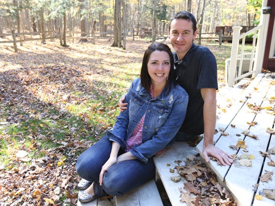 Dr. David Mathias and his wife Rhonda, pose for a photo Friday, October 20, 2017, at their house in Rib Mountain on Friday, October, 20, 2017. After leaving leaving the Army, David took a job as a pediatrician at Marshfield Clinic-Wausau Center.