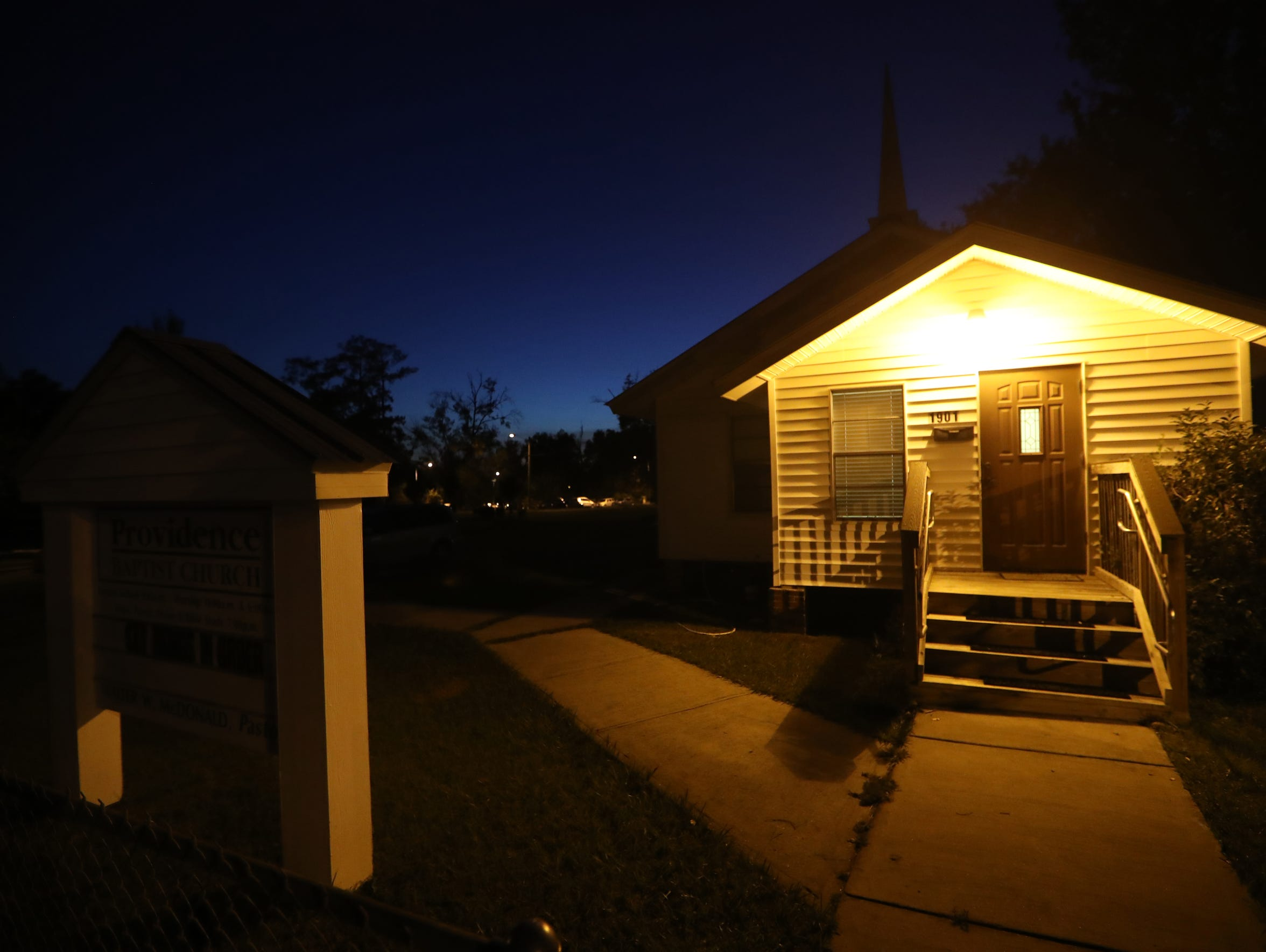 Providence Baptist Church in the Southside neighborhood