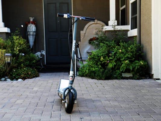 Razor E300S electric scooter.