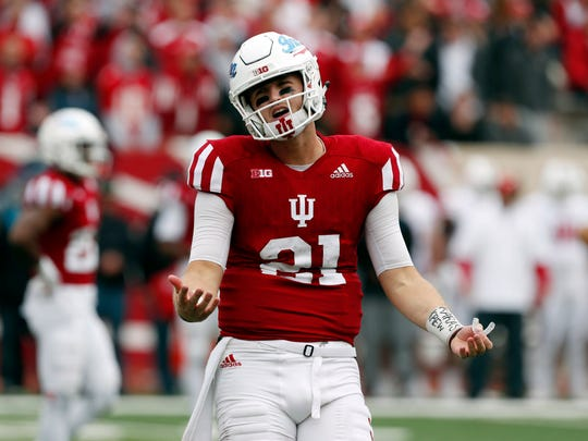 Richard Lagow will likely start for the Hoosiers again