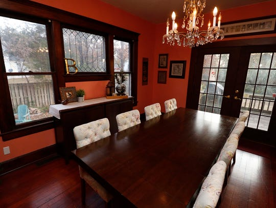 The Midtown home of Andrea and Matt Battaglia is one