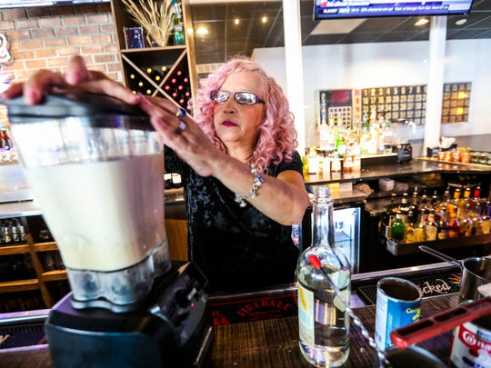 Mix it all up in a blender. Give it a taste then add more rum is a cup isn't enough. Coquito, Puerto Rico's take on eggnog. Wanda Lopez, who runs the SWFL Foodies Facebook group, was at Big Blue Brewing in Cape Coral showing how she makes her coquito.