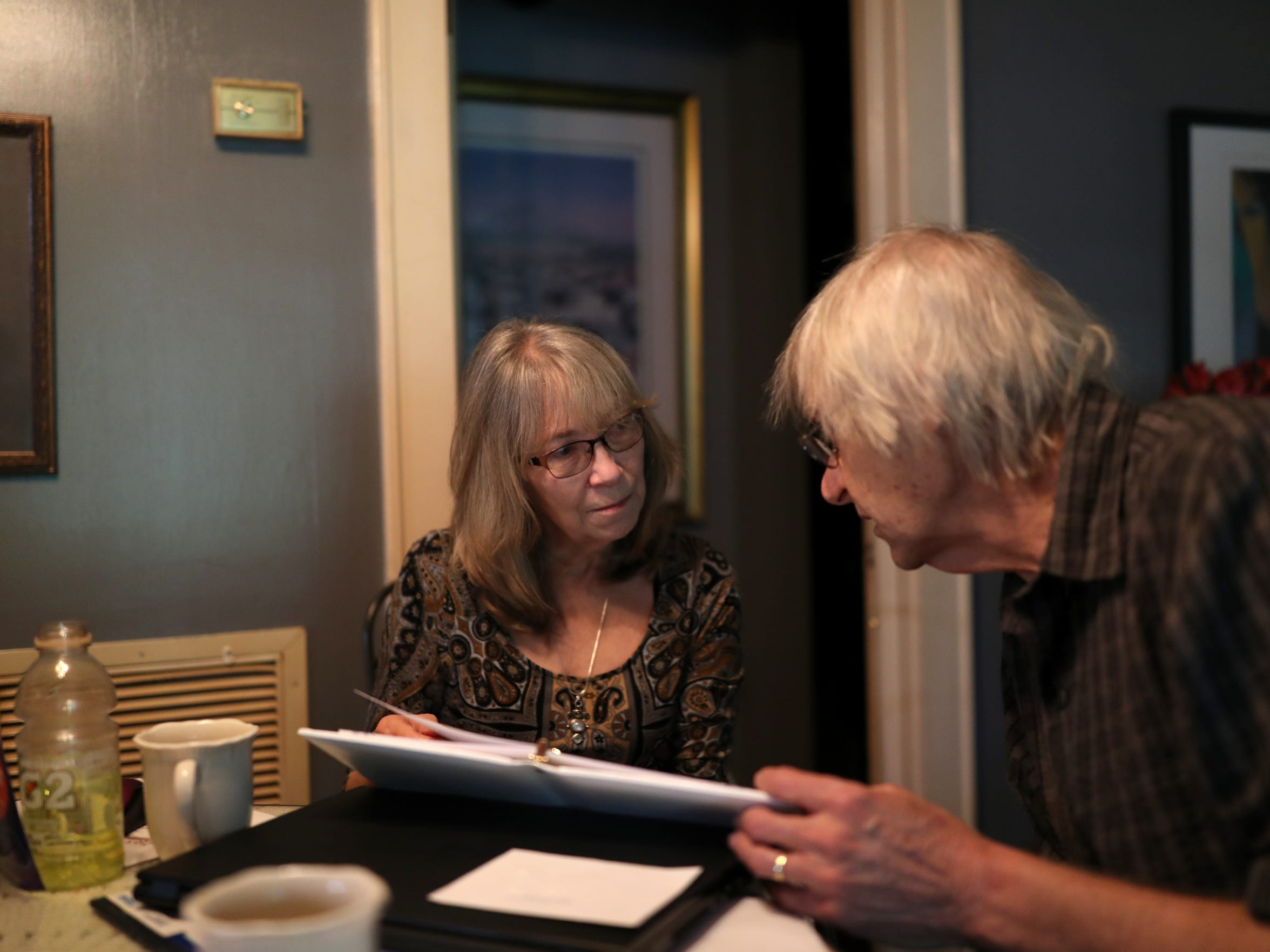 Steven Hjelm and Beth Frederick, parents of Jennifer Casey Norred, who was found in her cell by correctional staff at the Leon County jail after she killed herself.